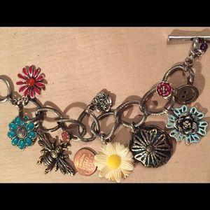 My Fav Fab chunky charm bracelet